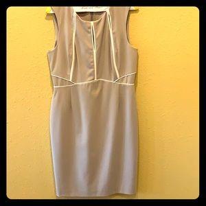 Calvin Klein Business Casual Beige Dress